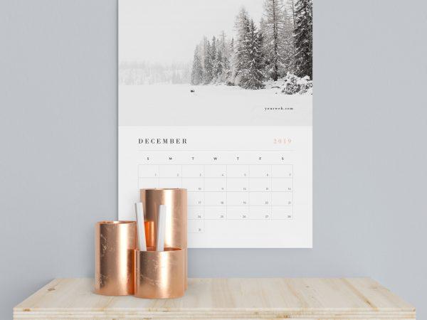 Calendario-muro